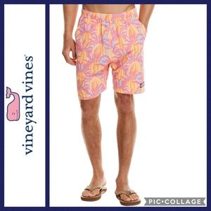 Men's Vineyard Vines Chappy Urchin Swim Trunks XL